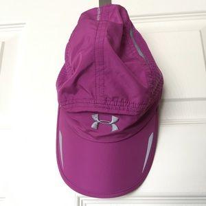 Under Armour Yoga Hat Pink Runnning Adjustable